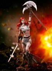 Red Sonja Scars of the She-Devil Red Sonja 1/6