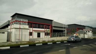 Taman perindustrian gemilang Kluang Light industrial Factory
