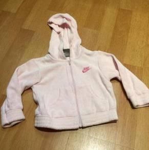 Nike Kids Girl Pink Hoodie Jumper Jacket