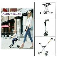 New magic stroller ( tayar hitam ) 544