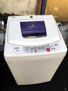 Mesin Automatic Basuh Toshiba Top Load 7kg Recond