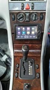 Mercedes benz w210 e class car dvd player monitor