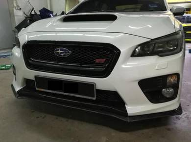 Subaru Impreza Sti V11 VAF Carbon skirting v lip
