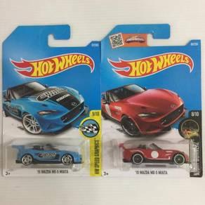 HotWheels '15 Mazda MX-5 Miata Lot