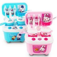 Mini rabbit kitchen playset