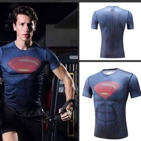 Superman Compression MMA rash guard