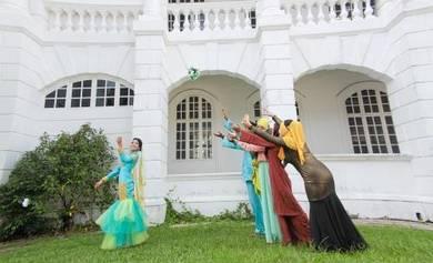 Gambar-gambar perkahwinan kaw Putrajaya