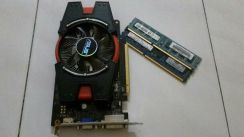 Graphics card/Ram ddr3