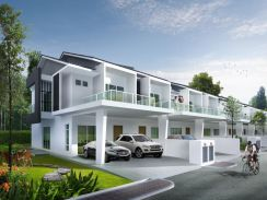[Raya Promo 15%Rebate] FREEHOLD Europe Style 2 Storey House 44x70sf