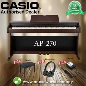 Casio ap-270 celviano digital piano brown
