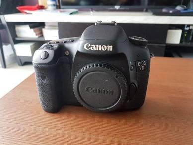 Canon 7d sc15k complete set