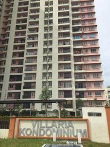 Villaria Condo PJ Corner Unit Next to PJCC Near Komuter Seri Setia