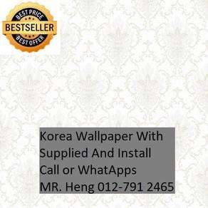 PVC Vinyl Wall paper with Expert Install 7yv