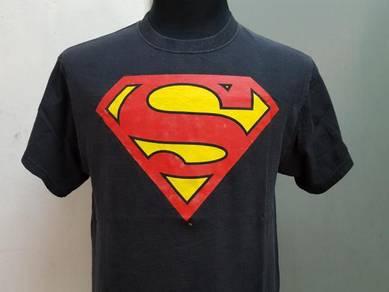 (S)SUPERMAN Black Tshirt M fit L