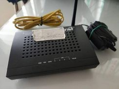 Streamyx modem and router