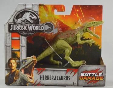 Jurassic World Herrerasaurus Battle Damage