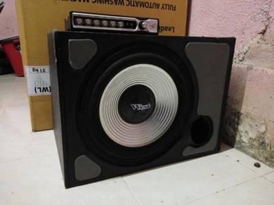 Speaker box 10 inci