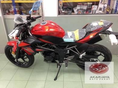 Kawasaki ninja Z 250 SL NAKED RACING EXHAUST