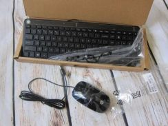 NEW HP Slim USB Keyboard and Mouse