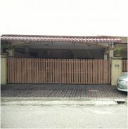 Chemor, Single storey terraced house - Corner lot