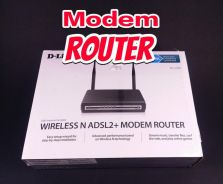 WIRELESS MODEM ROUTER D-LINK (used)