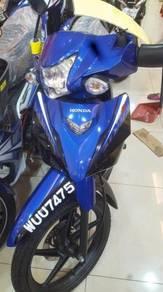 Honda wave alpha sport rim interchange bike