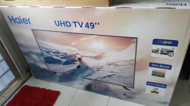 New 2018 haier 4k UHD LED TV 49