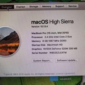 Mac Book Pro Mid 2010