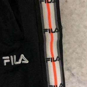 Seluar track fila side stripe saiz besar
