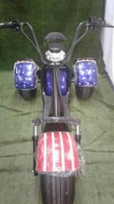 Harley Three wheeled Electric Scooter new (Johor)