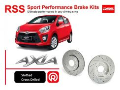 Perodua Axia RSS Sport Disc Brake Pad Kits