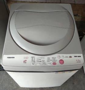 Mesin basuh toshiba 6.5kg