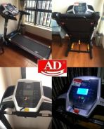 3HP Heavy Duty Smart Apps Monitor Treadmill
