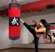 80 cm Height Fully Filled Punching Chain Sandbag