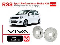 Perodua Viva 1.0 RSS Sport Disc Brake Pad Kits