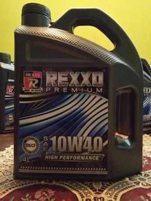 Rexxo engine oil door to door promotion
