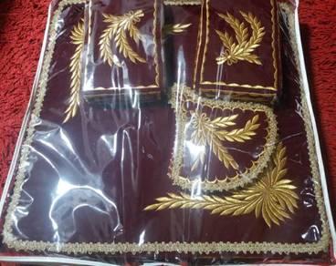 Tilam simpoh pengantin bersulam tekad emas(cior)