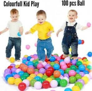 100 pcs Colourful Baby Ball (72)
