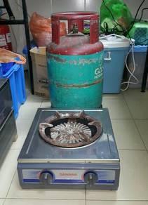 Dapur heavy duty tong gas petronas penuh