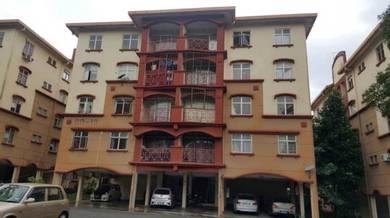 Apartment Damai Ria Mantin Nilai Balkoni Tingkat 2