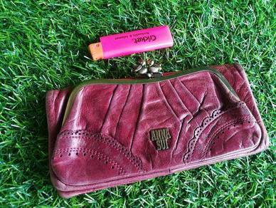 ANNA SUI long wallet full leather kueii