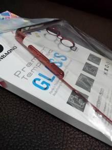 Redmi 5 - Tempered Glass + Phone Casing