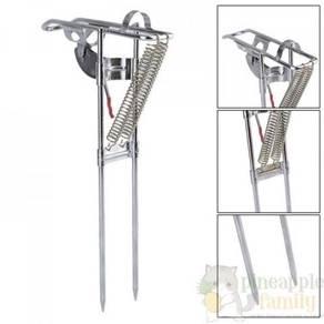 Automatic fishing pole stand 06