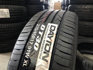 Tayar Baru 215 45 17 new tyre Bridgestone Dayton