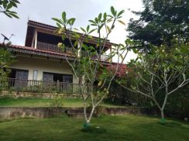 Anjung teres villa janda baik