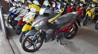 New SYM Sport Rider 125i std 18 free gift promo