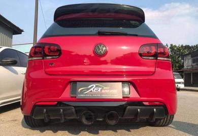Golf Mk6 Mk7 Rear Diffuser Osir Revozport Carbon