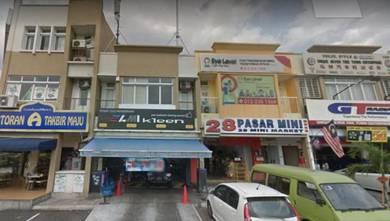Mutiara Indah Puchong 2sty Shop office 22x75sf Face Main Road, Saujana