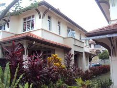 2 storey superlink endlot terrace for sale, presint 14 putrajaya