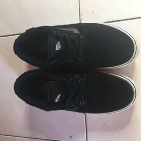 Vans ultracush crail leather black